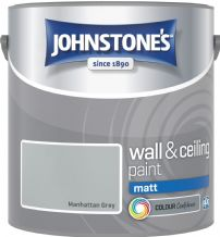 Johnstones Manhattan Grey Coloured Emulsion